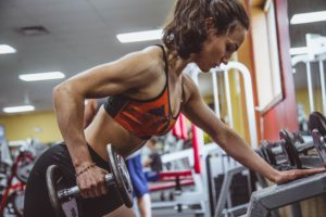 Femme musculation - triceps