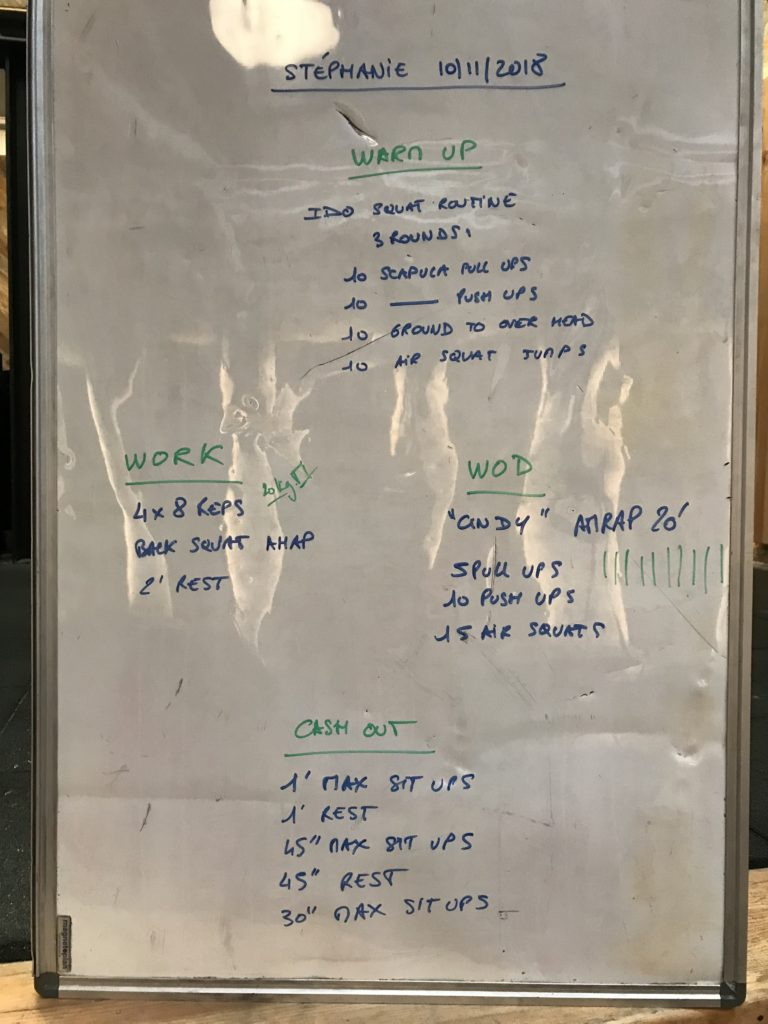 Crossfit-WOD Cindy