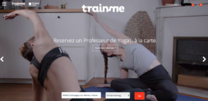 Trainme acceuil