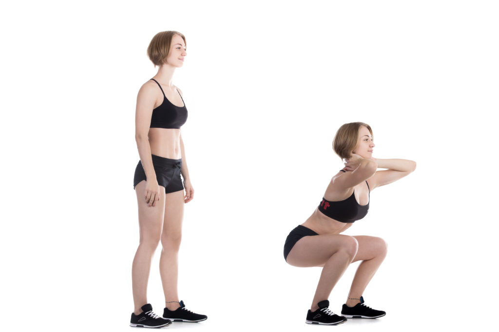 Squat - Flexion de jambe